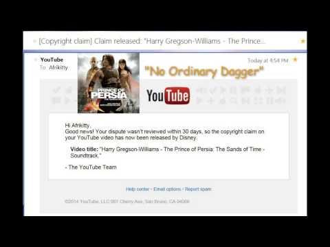 Copyright Dispute against Disney SUCCESSFUL!
