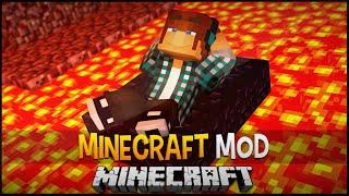 Minecraft Mod: Barco de Obsidian para Andar na Lava !! - Obsidian Boat Mod
