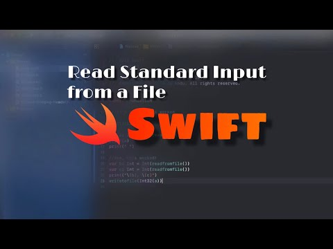 How to read standard input from a file in Swift thumbnail