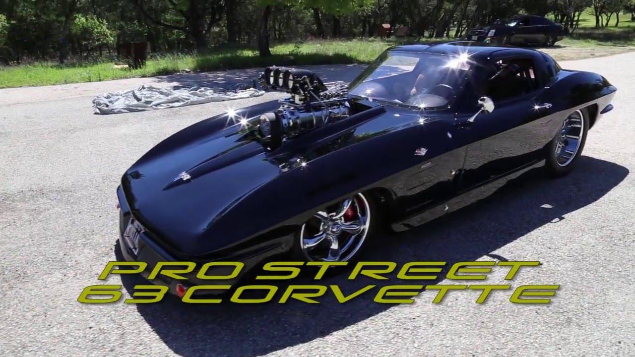 Split Window Corvette >> Pro Street 63 Corvette Split Window - YouTube