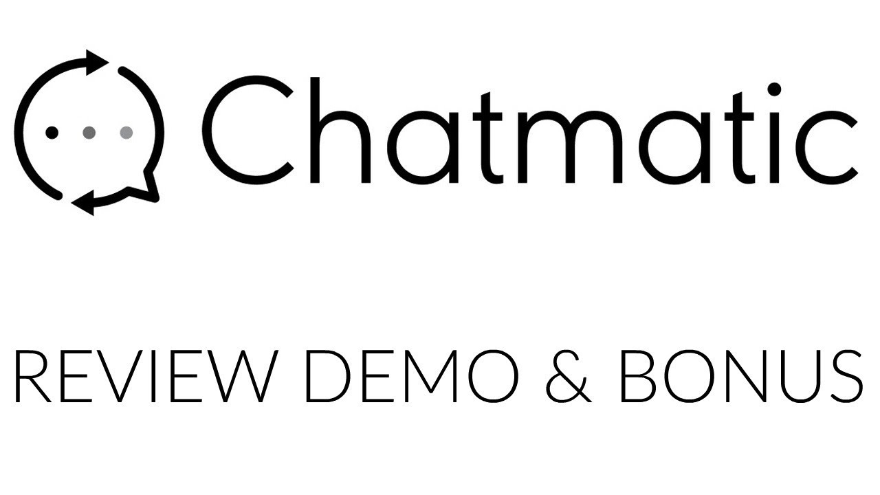 ChatMatic Review Demo Bonus - All In One Facebook Messenger Marketing Platform