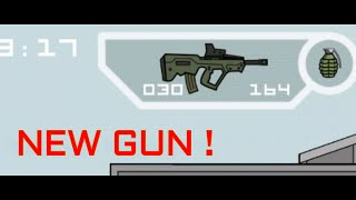 Doodle Army 2 : Mini Militia Sneak Peak #1 [ NEW Weapon ] Tavor Tar-21