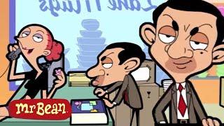 Kızgın Sürüş ve Daha fazla çizgi Roman | Klip Derleme | Mr. Bean Resmi Karikatür