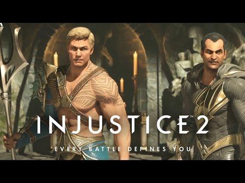 Injustice 2 Story Mode 第十章 Black Adam , Aquaman | 超級英雄:武力對決 2