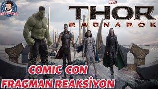 Thor ragnarok // comic con fragman İncelemesİ ve reaksİyon // kasimda aŞk baŞkadir !! :)