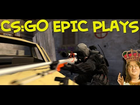 CS:GO EPIC MOMENTS MONTAGE! (Clutches, Aces, 4Ks, 1v5)