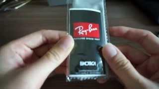 แกะกล่อง RayBan มีอะไรในกล่องของแท้บ้าง(ขอมาแชร์แกะกล่องนะครับ สำหรับคนที่อยากรู้ว่ามีอะไรในกล่อง RayBan ของแท้..., 2014-07-12T12:55:06.000Z)