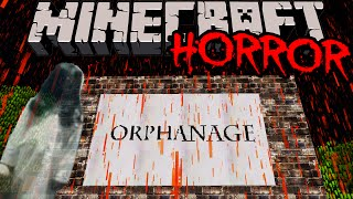 Minecraft: The Orphanage Scariest Adventure Map Ever? Creepy Ghost Mystery Beware Jump Scares ENDING