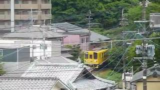 島原鉄道2500A形+2500A形「諫早行き」諫早駅付近通過