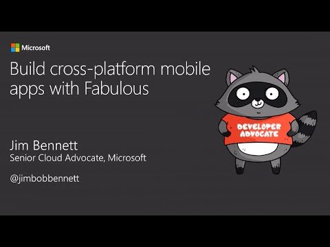 Build Cross-platform Mobile Apps Using Fabulous - Jim Bennett