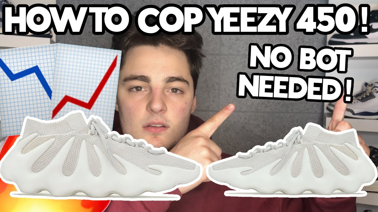 HOW TO COP YEEZY 450 CLOUD WHITE!!! YEEZY 450 CLOUD WHITE RESELL PREDICTIONS!!!