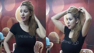 Repeat youtube video Munmun Dutta's (Babita) unseen dance rehearsal video - LEAKED VIDEO.
