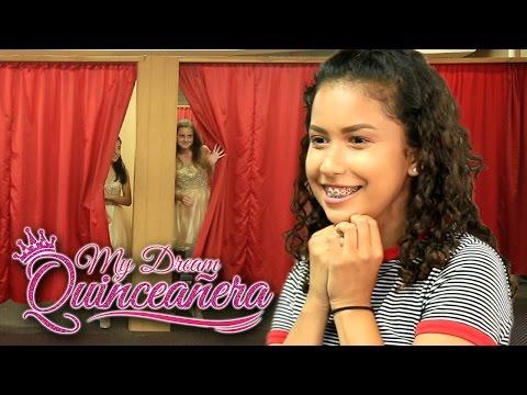 Surprise Dance and Dama Dresses! - My Dream Quinceañera - Mia Ep 2