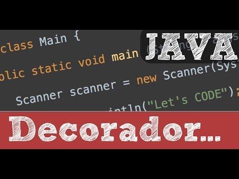 Decorador - Patrones de diseño de software en Java