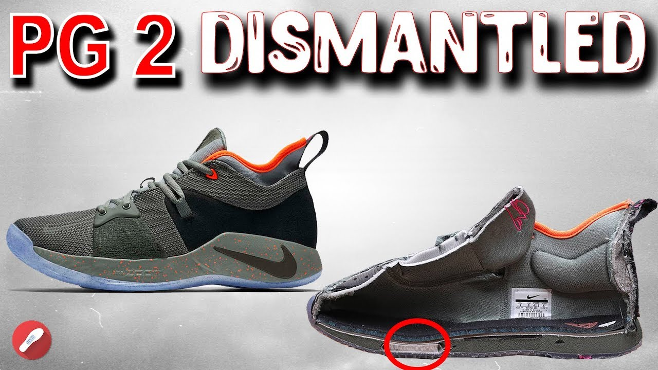 26d60c72dbf1 Nike PG 2 (Paul George) Dismantled! What s Inside  - YouTube