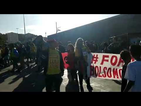 """""""Moro é Bandido! Não é Juiz!"""", Diz Manifestante No Maracanã"""