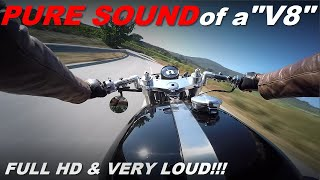 The Pure Sound of my Honda CX Cafe Racer
