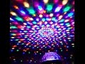 DJ / Stage Party LED Crystal Magic Ball DMX Disco DJ Stage Light UK Unboxing