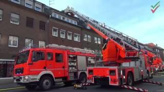 NRWspot.de | Münster – Feuerwehr am zweiten Weihnachtstag im Einsatz bei Dachstuhlbrand