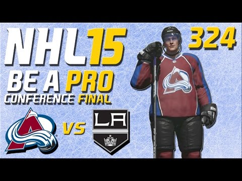 NHL 15 [Be A Pro] #324 - Colorado Avalanche - Los Angeles Kings (Playoffs Conference Final Spiel 1)