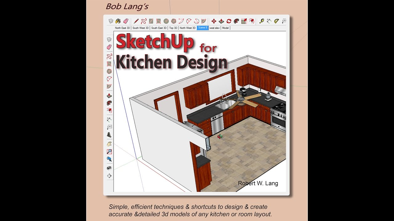 Bob Langu0027s SketchUp For Kitchen Design   Video Preview Part 55