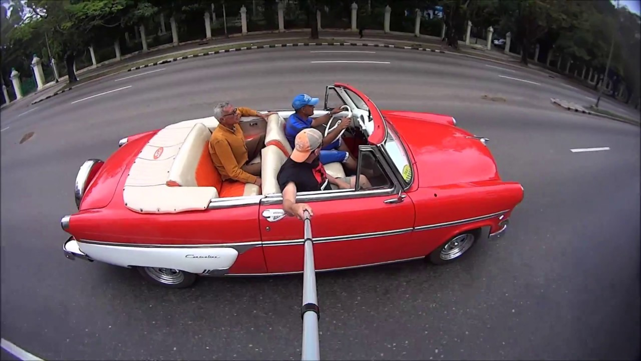 2018 American Cars In Cuba Police In Cuba Getting Around In Cuba