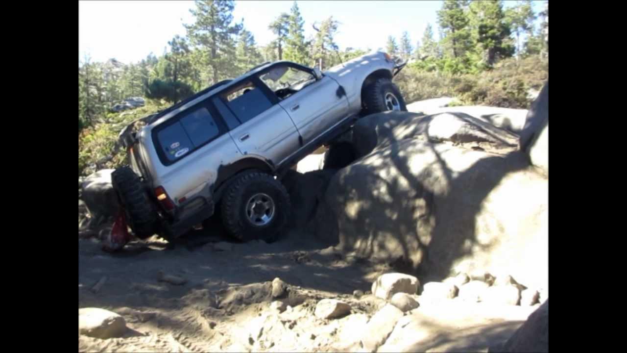 4Runner Trail Premium >> Toyota Land Cruiser Fzj80 Rubicon Trail Rock Crawler. - YouTube