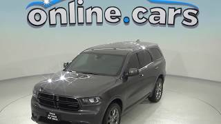 A98579TA Used 2016 Dodge Durango SXT AWD Gray Test Drive, Review, For Sale