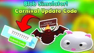 *Carnival Update Codes * Apple und Münzcodes | BloB Simulator Roblox Codes