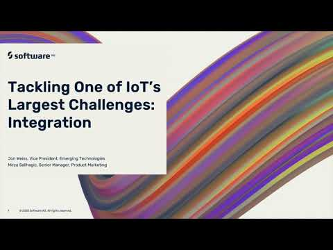 Intelligent Data Summit 2020 - Tackling IoT's Largest Challenges: Integration