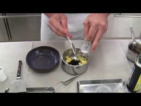 Bacquié prepares a signature dish at Le MonteCristo, Provence