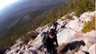 MAINE 2012 [Day 3] (Part1)  - Climbing Mt. Katahdin (Abol Trail)