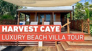 Gambar cover Harvest Caye Luxury Beach Villa - Tour and Review - 2019