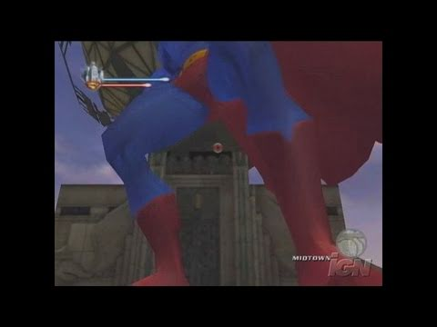 Superman Returns: The Videogame Xbox Gameplay - Dive Bomb