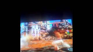 Tekken Revolution Lili vs Kazama