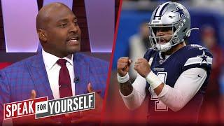 Wiley believes Jerry Jones will cave and pay Dak Prescott, talks Cam   NFL   SPEAK FOR YOURSELF