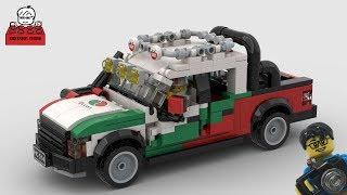 LEGO MOC#35-2 Ford F150 SVT Raptor Octan Livery
