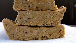 Homemade Low Carb High Fat Keto Energy Protein Bars