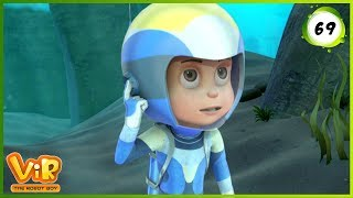 Vir: The Robot Boy | Missing Gintu | Action cartoons for Kids | 3D cartoons