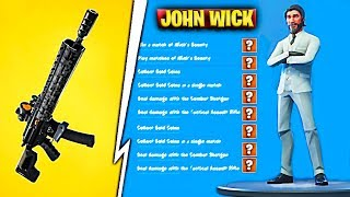 NEW EVENT WITH SKIN JOHN WICK v2 WITH FREE GIFTS FROM FORTNITE SEASON 9