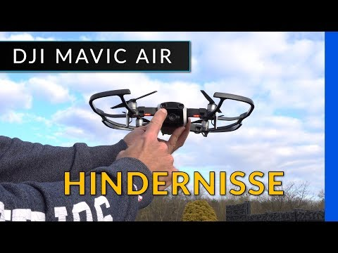 Dji Mavic Air: Test der Hinderniserkennung und APAS - deutsch