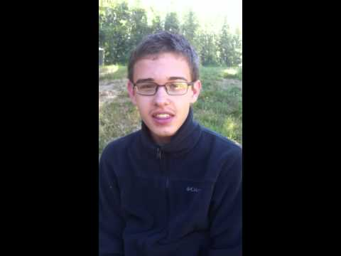 Pastor Shawn McBride-Student Testimony 2-Jr High Adventure Camp Eugene Oregon