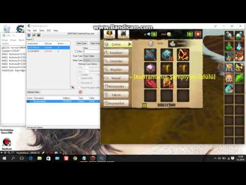 Order And Chaos Cheat Engine Hileleri