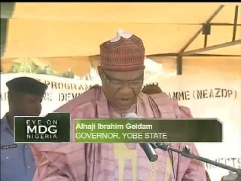 Eye on MDG - CGS In Yobe State North East Nigeria