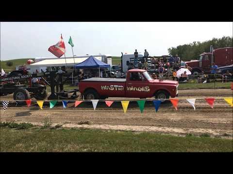 Truck pulling in Saskatchewan