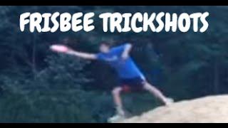 Frisbee trickshots