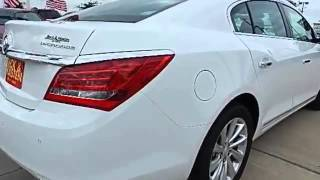 2014 BUICK LACROSSE LEATHER SUMMIT WHITE