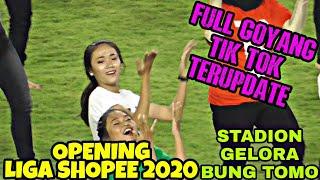 Download lagu Full Goyang TIK TOK Gadis Cantik Surabaya | Opening Liga 1 Indonesia 2020