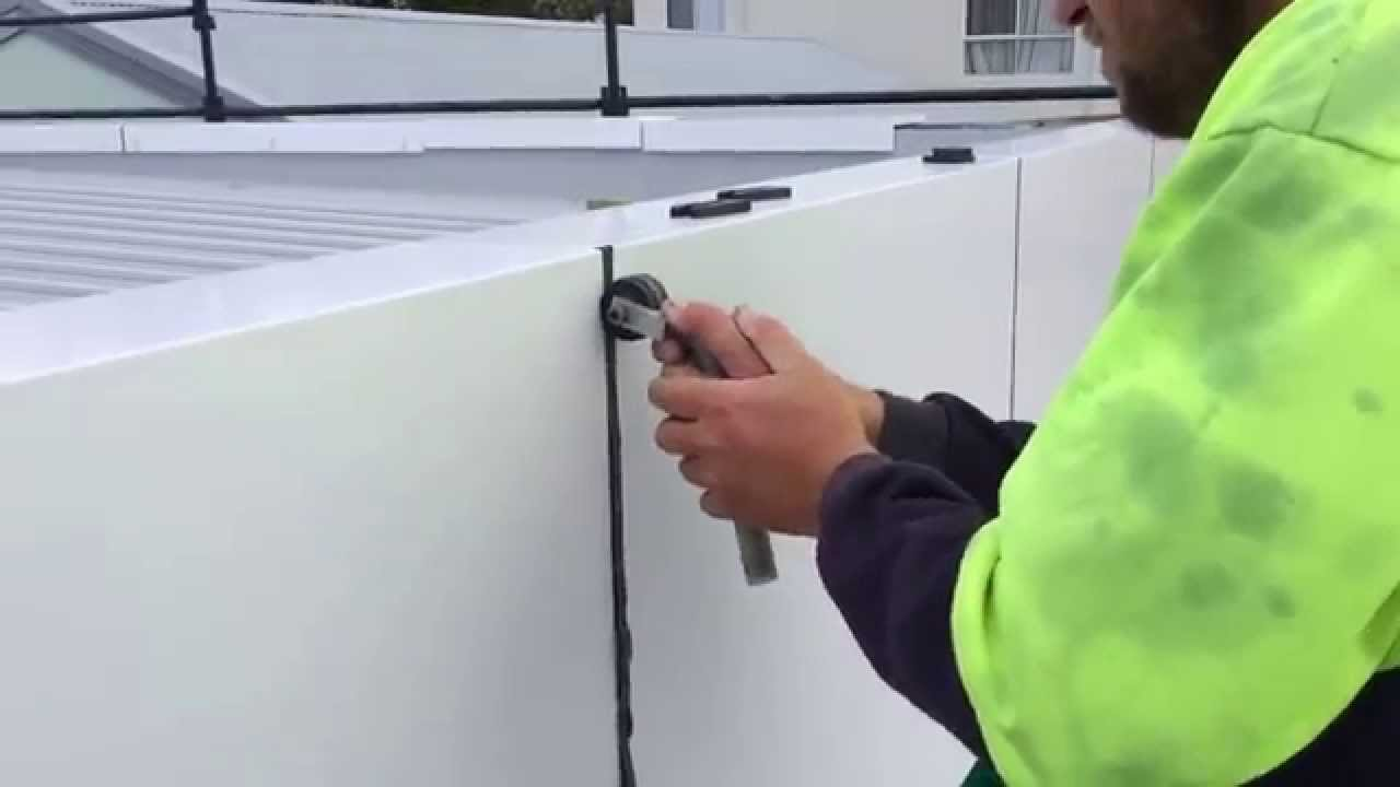 Aluminium Cladding Without Silicon : Silicone gasket installation youtube