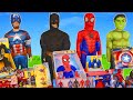 Superhero Toys: Batman, Spider man & Avengers Toy Vehicles Unboxing for Kids